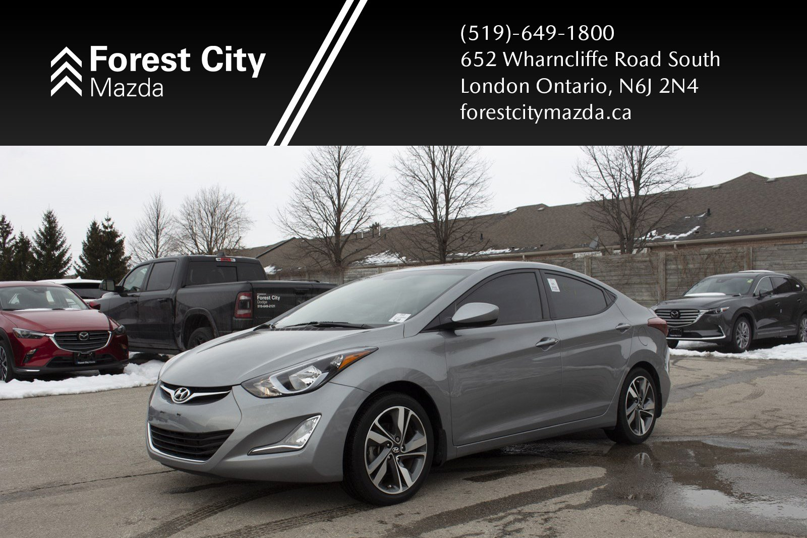 Pre-Owned 2015 Hyundai Elantra GLS, AUTOMATIC,HEATED SEATS,ALLOYS,POWER MOONROOF
