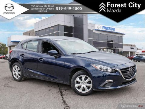Pre-Owned 2015 Mazda3 GX, AUTOMATIC, POWER OPTIONS, FWD Hatchback