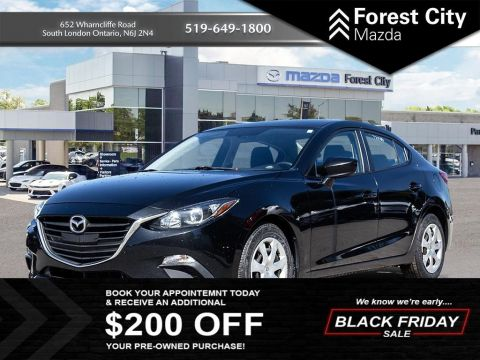 Pre-Owned 2015 Mazda3 GX FWD 4dr Car