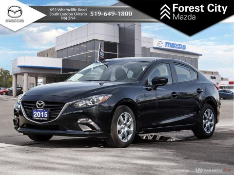 Pre-Owned 2015 Mazda3 GX, AUTOMATIC, POWER OPTIONS, FWD 4dr Car