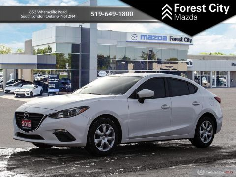Pre-Owned 2016 Mazda3 SPORT FWD 4dr Car