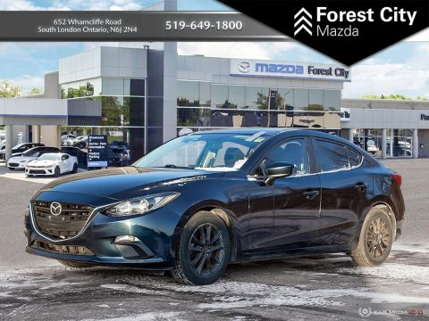Pre-Owned 2015 Mazda3 GS, AUTOMATIC, ALLOYS, BACK UP CAMERA FWD 4dr Car