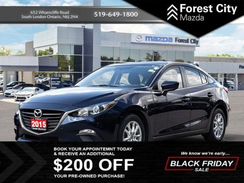 Pre-Owned 2015 Mazda3 GS FWD 4dr Car
