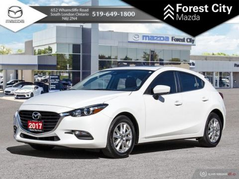 Pre-Owned 2017 Mazda3 GS PACKAGE, BLUETOOTH, BACK-UP CAMERA