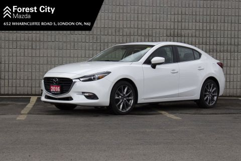 Pre-Owned 2018 Mazda3 GT,LEATHER,SUNROOF,NAVIGATION FWD 4dr Car