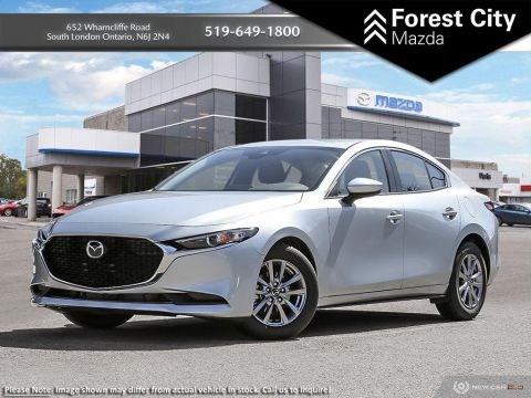 Pre-Owned 2019 Mazda3 GS| DEMO | Bluetooth | Keyless Entry | Push To Start | Back Up Cam
