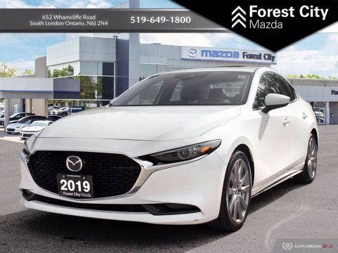 Pre-Owned 2019 Mazda3 GT FWD 4dr Car
