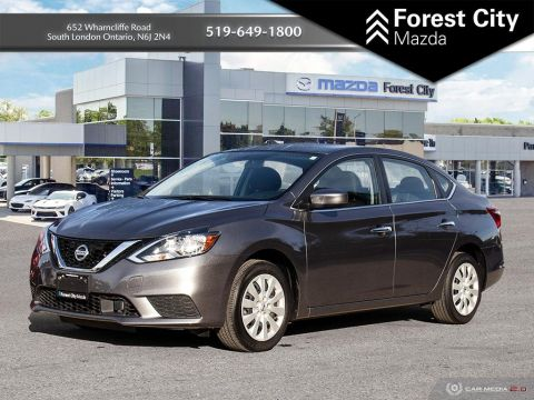 Pre-Owned 2018 Nissan Sentra AIR CONDITIONING, POWER OPTIONS, GREAT ON GAS
