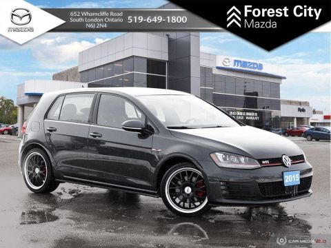 Pre-Owned 2015 Volkswagen Golf GTI | Autobahn | New Tires | Upgraded Wheels