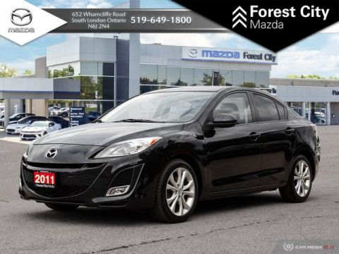 Pre-Owned 2011 Mazda3 GT PACKAGE, LEATHER, SUNROOF