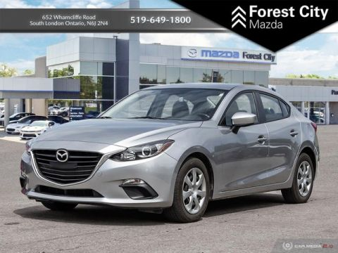 Pre-Owned 2016 Mazda3 SPORT | PUSH TO START | KEYLESS ENTRY