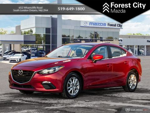Pre-Owned 2014 Mazda3 GS-SKY, BACK UP CAMERA, MANUAL TRANSMISSION FWD 4dr Car