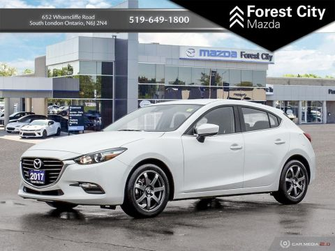 Pre-Owned 2017 Mazda3 GS FWD Hatchback