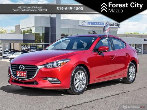 Pre-Owned 2017 Mazda3 GS PACKAGE, FWD, BLUETOOTH FWD 4dr Car