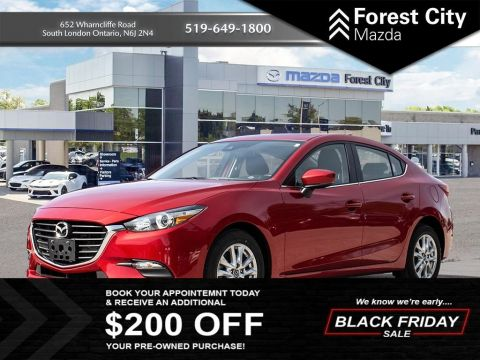 Pre-Owned 2018 Mazda3 TOUR FWD 4dr Car