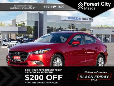 Pre-Owned 2017 Mazda3 GS FWD 4dr Car