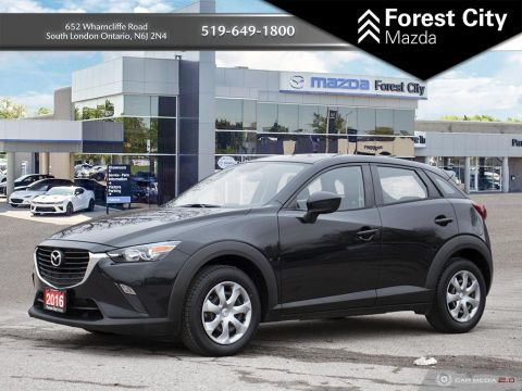 Pre-Owned 2016 Mazda CX-3 GX, AUTOMATIC, REVERSE CAMERA, CLOTH INTERIOR Sport Utility