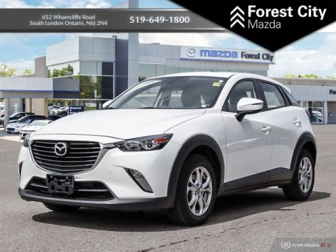 Pre-Owned 2016 Mazda CX-3 GS | Leather Interior | Sunroof | Back-up Cam | NAV Sport Utility