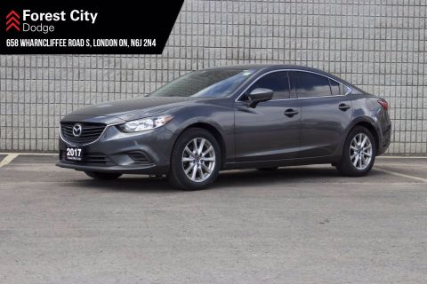Pre-Owned 2017 Mazda6 GS | SUNROOF | LEATHER | NAVIGATION SYSTEM | FWD