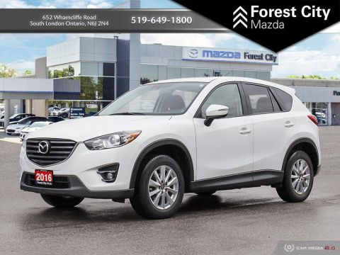 Pre-Owned 2016 Mazda CX-5 GS | Sunroof | NAV | Back-up Cam FWD Sport Utility