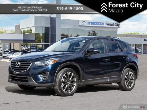 Pre-Owned 2016 Mazda CX-5 GT | LEATHER INTERIOR | SUNROOF | BACK-UP CAM | NAV