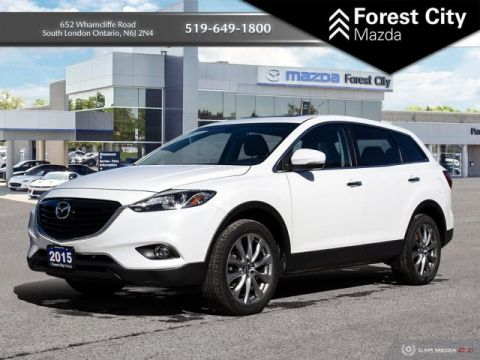 Pre-Owned 2015 Mazda CX-9 GT | Leather Interior | Moonroof | NAV | Back-up Cam